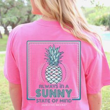 Sunny State of Mind ( Pink) - Short Sleeve