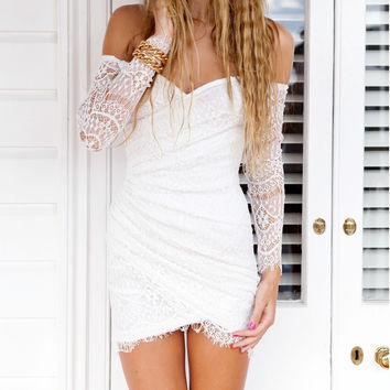 Fashion Sexy Off The Shoulder Strapless Bodycon Mini Dress Short Party