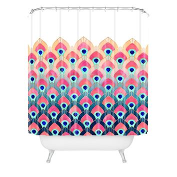 Elisabeth Fredriksson Feathered 1 Shower Curtain