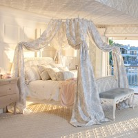 AFK Josephine Upholstered Bed with Lit A la Polonaise