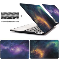 STAR laptop Case for MacBook Air 11 13 inch for APPLE MAC Pro with Retina 12 13.3 15 with Touch Bar + keyboard cover