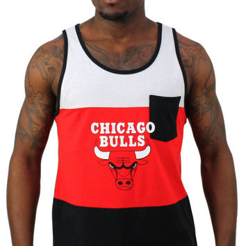 Chicago Bulls NBA Adidas Originals Men's Retro Tank Derrick Rose
