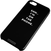 Shh..I'm on the Phone - Humor Funny Case for iPhone 6 ($15.00)