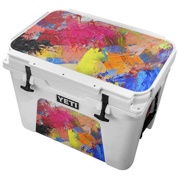 Paint Splatter Pattern Skin for the Yeti Tundra Cooler