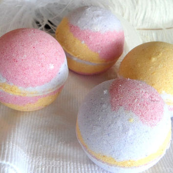 Bath Bomb Bath Fizzy Butterfly Orchid by DustDesigns on Etsy