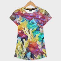 «Sea Salad III» Women's All Over T-Shirt by David Manlove - Numbered Edition from $39 | Curioos