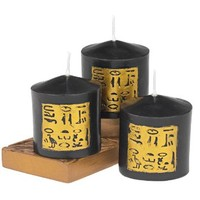 Design Toscano Egyptian Style Candles