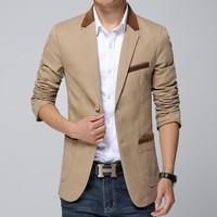 Men's Casual Blazer Up To 5XL