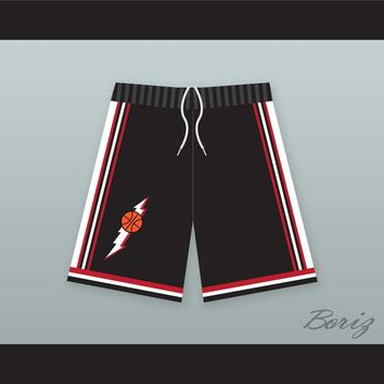 In The House Black Basketball Shorts