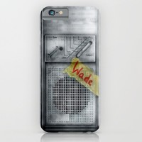 Classic retro Wade Wilson Walkman iPhone & iPod Case by Three Second