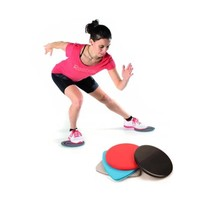 1 Pair Sport Workout Gliding Slide Discs Fitness Gliders Gym Slider Exercise Core Training Slimming Abdominal Equipment