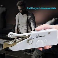 HAITRAL Handheld Sewing Machine Portable Quick Stitch Tool for Fabric, Clothing