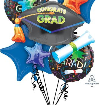 Congrats Grad Balloon Bouquet