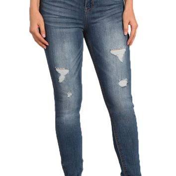 Celebrity Pink Jeans High Rise Ankle Skinny Jeans Lucca