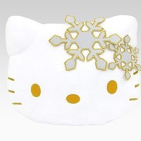 shop.sanrio.com - Hello Kitty Face Cushion: Snowflake
