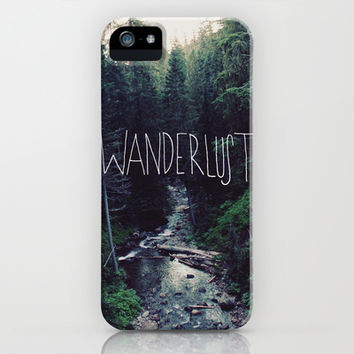 Wanderlust: Rainier Creek iPhone & iPod Case by Leah Flores Designs