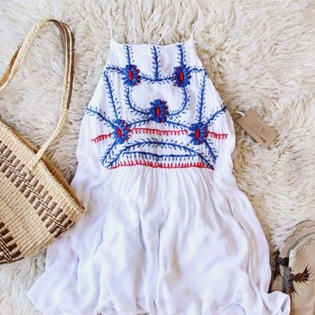 Siesta Dress in White from Piper by Townsen