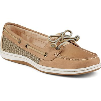Women's Firefish Boat Shoe in Linen Oat by Sperry - FINAL SALE