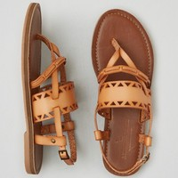 AEO CUTOUT BUCKLE SANDALS