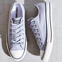 Converse Chuck Taylor All Star Washed Low-Top Sneaker - Grey W
