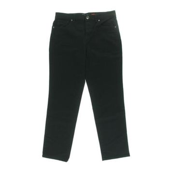 Style & Co. Womens Tapered Natural Fit Straight Leg Jeans
