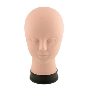 Mannequin Practice Head Salon Up Eye Wig Female acupoint dummy head mould