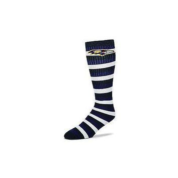 Baltimore Ravens Striped Knee High Hi Tube Socks One Size Fits Most Adults