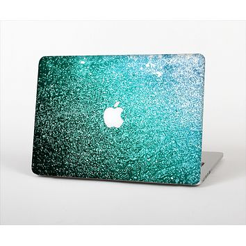 The Grungy Teal Texture Skin Set for the Apple MacBook Air 11""