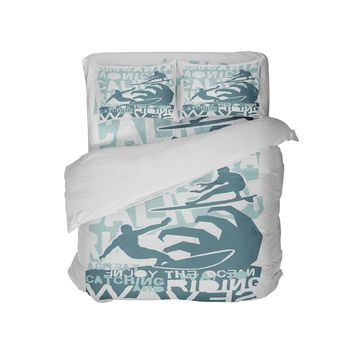 Catching Waves Surfer Bedding Surf Comforter
