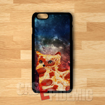 Space Cat Pizza -tri for iPhone 6S case, iPhone 5s case, iPhone 6 case, iPhone 4S, Samsung S6 Edge