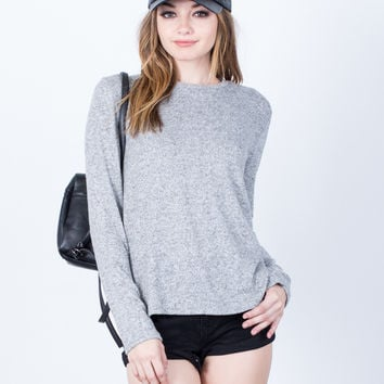 Simple Sweater Top - Large