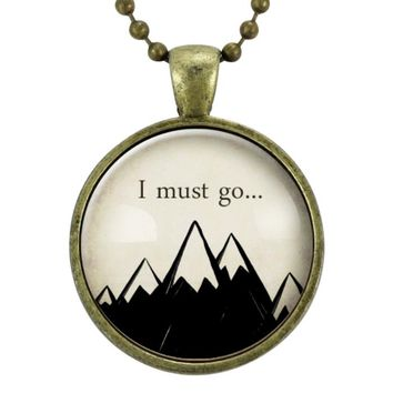 John Muir Mountain Necklace
