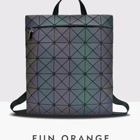 MANSURSPACE New Luminous Laser Bag Fashion bao Bag Trend Frosted Sequins PVC Backpack Geometric Square Rhombic Backpack-in Backpacks from Luggage & Bags on Aliexpress.com | Alibaba Group