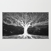Starry Night Tree of Life Area & Throw Rug by Amelia  Carrie