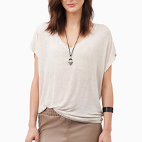 Lay Low V Neck Top