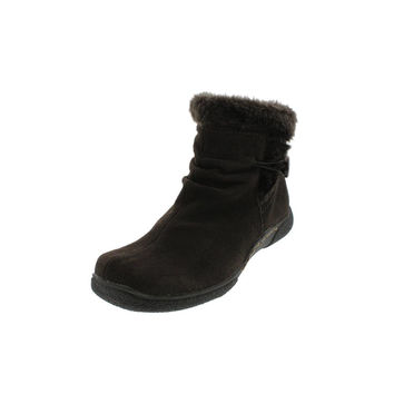Naturalizer Womens Lorelia Suede Lined Insulated Boots