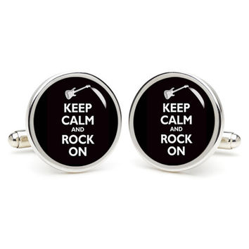 Keep Calm  cufflinks , wedding gift ideas for groom,gift for dad,great gift ideas for men,groomsmen cufflinks,