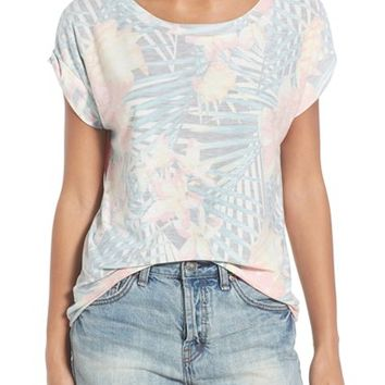 Sol Angeles 'Botanica' Print Slouch Tee | Nordstrom