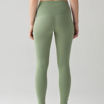 Green Lululemon Leggings