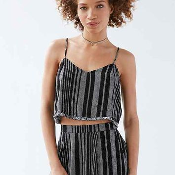 Silence + Noise Yarn-Dye Stripe Set Cami