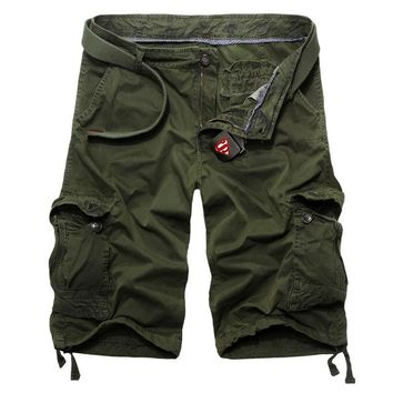 2018 Mens Cargo Shorts 4 Colors