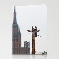 One more bite to outgrow the tallest Stationery Cards by Digital2real