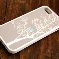 Gray Tree Loving Birds iPhone 6s 6 plus case iPhone 6s rubber case iPhone 5s 5 5c silicone case iPhone 6 Case