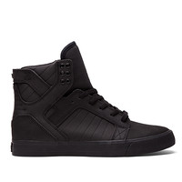SKYTOP BLACK - BLACK | Official SUPRA Footwear Site
