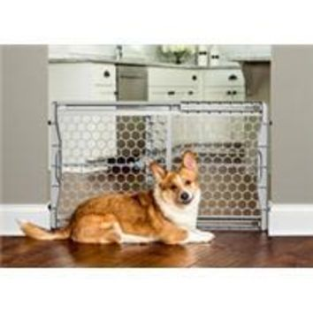 Carlson Pet Products - Plastic Expandable Gate W/ Steel Support Rod
