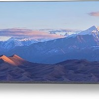 Colorado Sand Dunes First Light Sunrise Panorama Metal Print