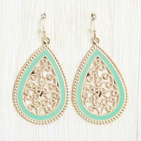 Mint Lucky 6 Earrings - Earrings
