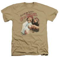 CHEECH & CHONG/ROLLED UP - ADULT HEATHER - SAND -