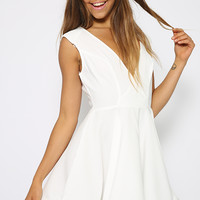 Bree Dress - White