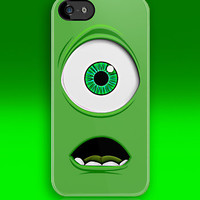 Cute Monster inc Green Cyclops apple iphone 5, iphone 4 4s, iPhone 3Gs, iPod Touch 4g case, Available for Man, woman and Kids t-shirt